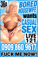 Bored housewives phone sex advert