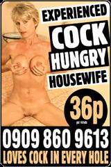 Experienced women phone sex advert