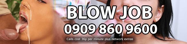 Blow Job Phone Sex Header