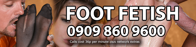 Foot Fetish Phone Sex Header