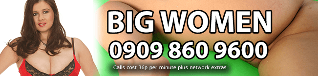 Big Women Phone Sex Header