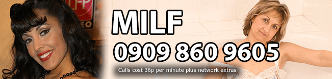 MILF Phone Sex Header